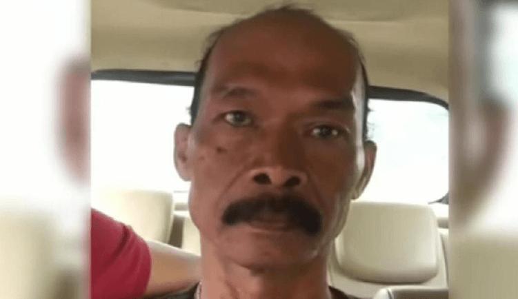 Pria penghina Jokowi yang ditangkap polisi di Bogor. (ist)