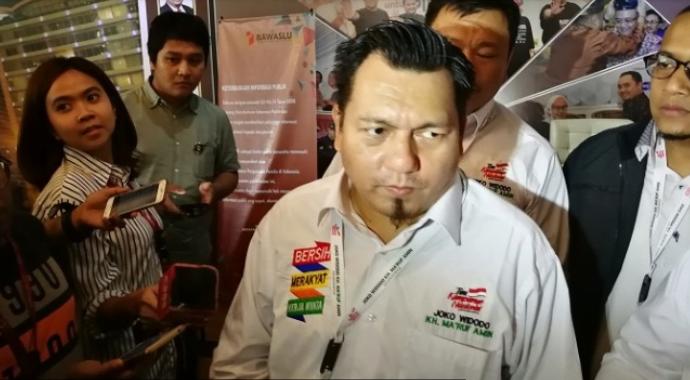 Direktur Hukum TKN Jokowi-Ma'ruf, Irfan Pulungan.