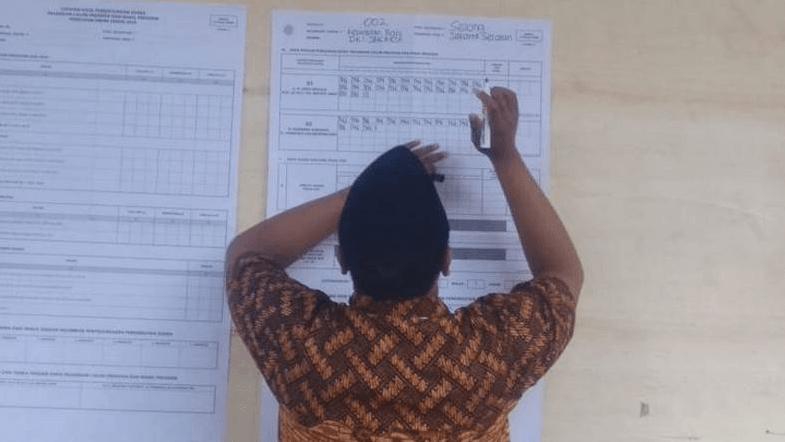 TPS Sandiaga Uno yang dimenangkan Jokowi-Ma'ruf Amin.