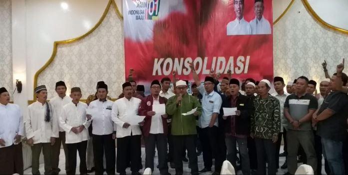Obor Peduli Bangsa (OPB) mendeklarasikan dukungannya untuk Joko Widodo-Ma'ruf Amin.