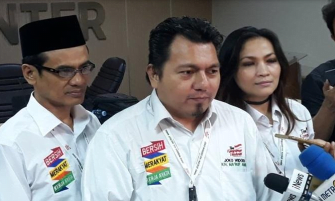 Direktur Hukum dan Advokasi TKN Jokowi-Ma'ruf, Ade Irfan Pulungan.