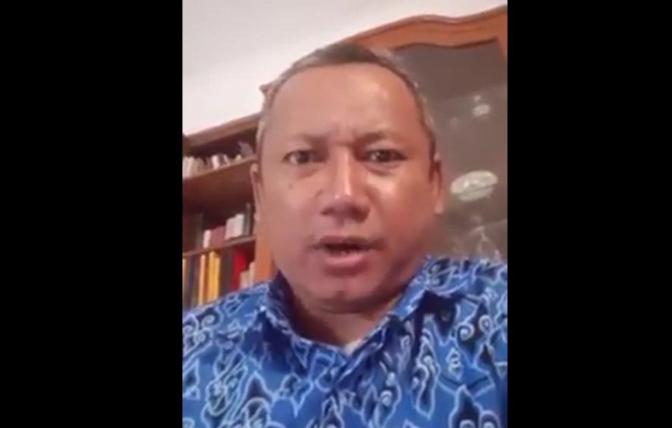 Iwan Adi Sucipto, pelaku Ujaran Kebencian yang ditangkap Polisi.