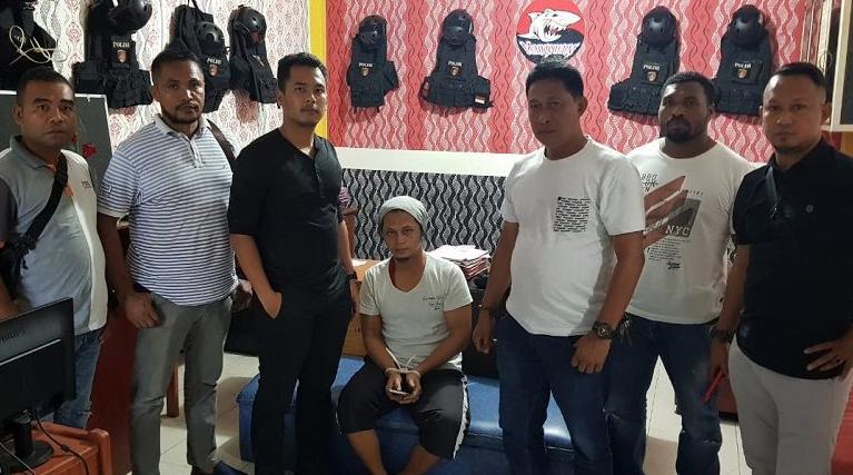 Polisi meringkus pelaku penyebar hoaks yang juga napi di Lapas Sorong.