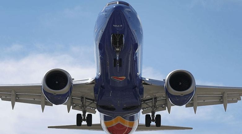 Pesawat Boeing 737 Max.