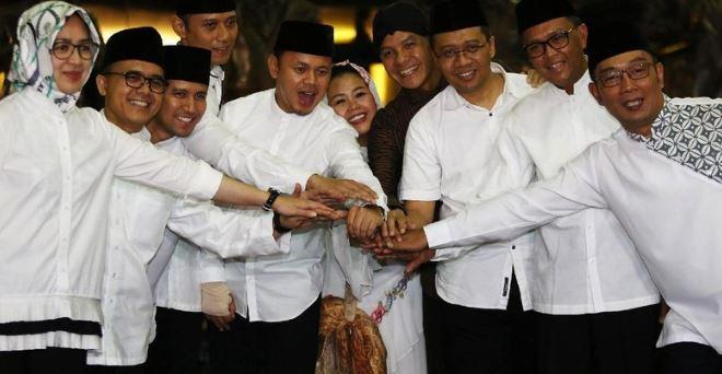 Pertemuan Kepala Daerah dan tokoh di Istana Bogor.
