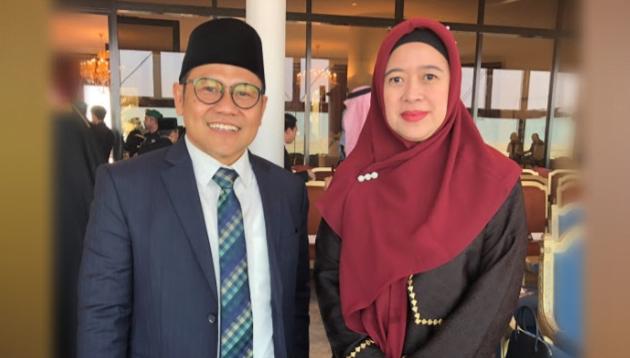 Muhaimin Iskandar dan Puan Maharani. (Ist)