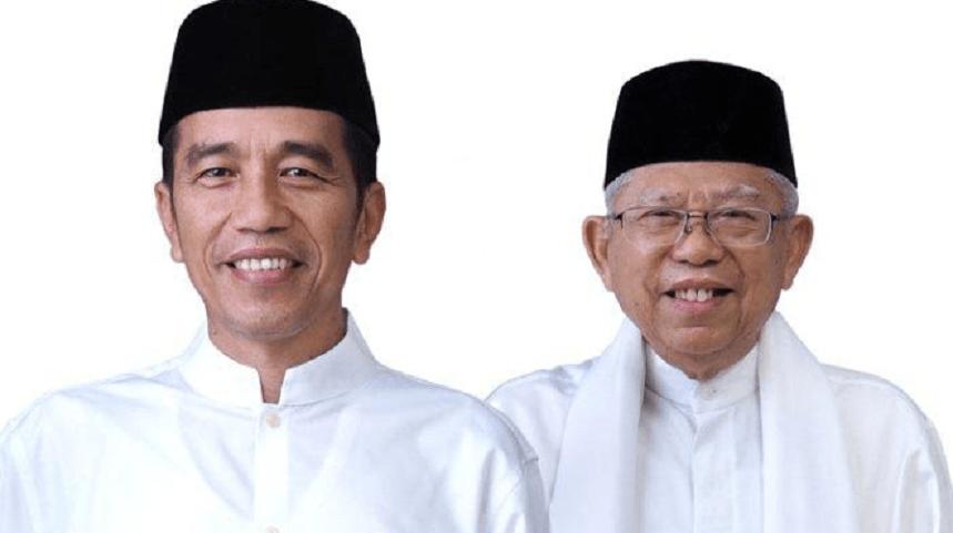 Presiden 2019-2024 Jokowi-Ma'ruf Amin.