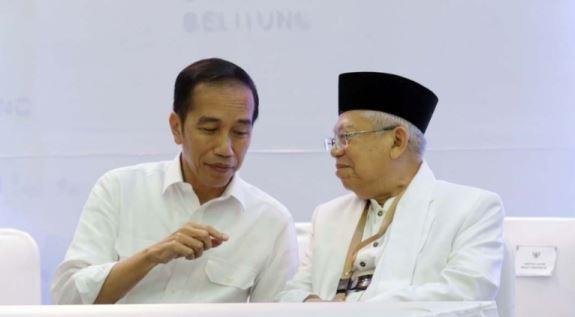Jokowi-Ma'ruf Amin.