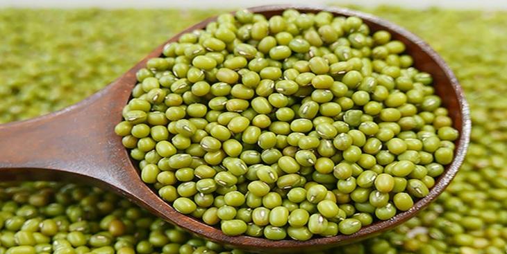 Kacang hijau.