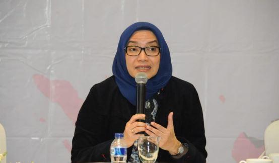 Komisioner KPU Evi Novida Ginting Manik.