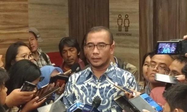 Komisioner KPU RI Hasyim Asyhari.