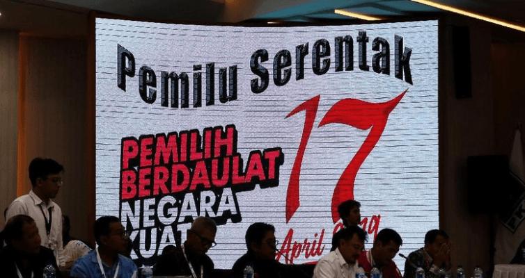 KPU, saat Tetapkan Hasil Pemenang Pilpres 2019.
