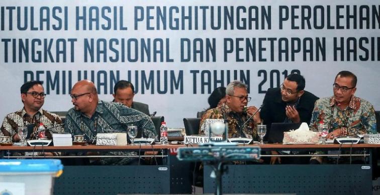 Rekapitulasi Pemilu 2019 dari PPLN.