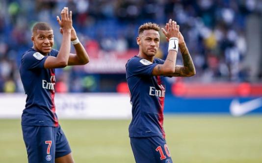 Mbappe dan Neymar.