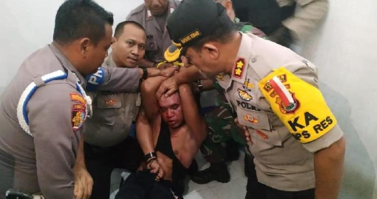 Pelaku penculikan ditangkap (Dok. Istimewa).