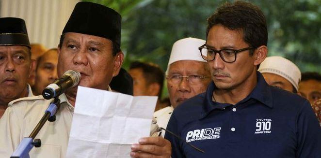 Prabowo-Sandi.