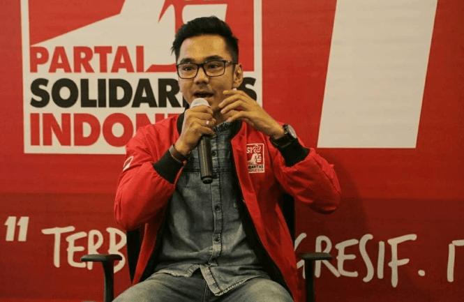 Juru bicara Partai Solidaritas Indonesia (PSI), Dedek Prayudi. (Ist)