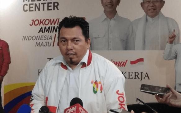 Direktur Hukum dan Advokasi TKN Ade Irfan Pulungan.