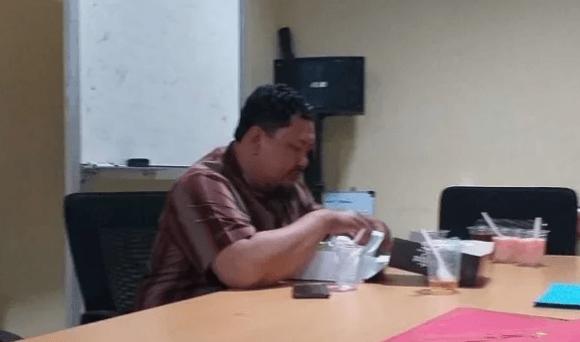 Ketua GNPF Ulama Bogor Ustaz Iyus Khaerunnas ditangkap Polres Bogor Kota.