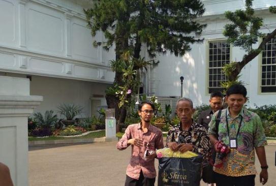 Usma usai bertemu dengan Jokowi.