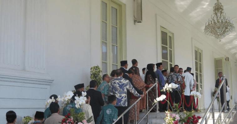 Open House Jokowi di Istana negara.