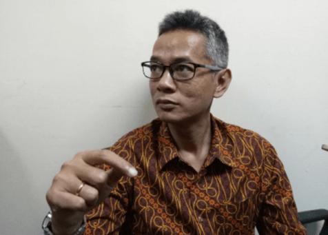 Komisioner KPU RI Wahyu Setiawan.