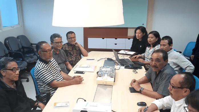 Pertemuan tim hukum Prabowo-Sandi dengan LPSK.