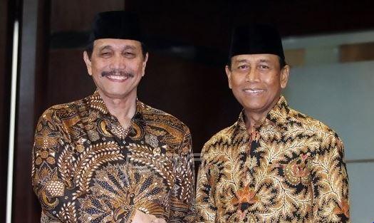 Luhut dan Wiranto.