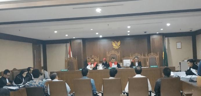 Sidang pemeriksaan kasus suap jual beli jabatan Kemenag, Rabu 12 Juni 2019.