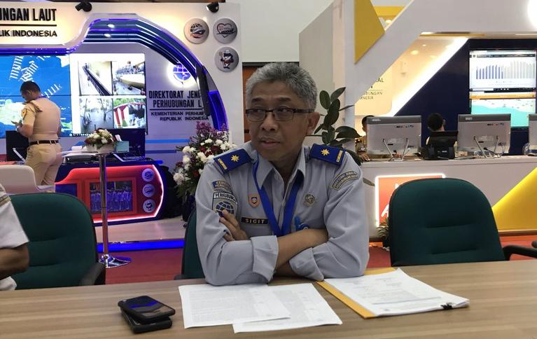 Ketua Posko Harian Tingkat Nasional Angkutan Lebaran 2019, Sigit Irfansyah.