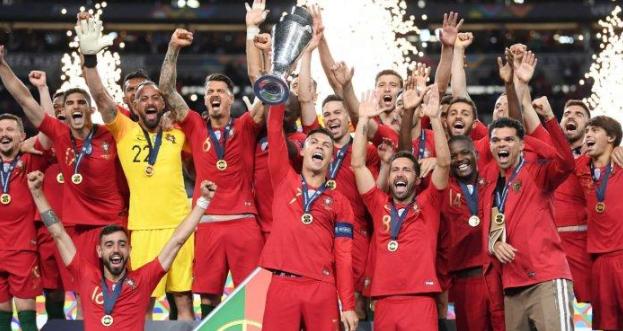Portugal juara UEFA Nations League 2019 setelah kalahkan Belanda 1-0.