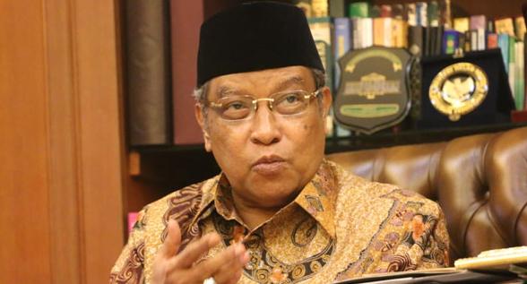 Ketua Umum Pengurus Besar Nahdlatul Ulama (PBNU) Said Aqil Siroj.