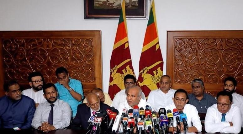 Menteri muslim Sri Lanka mundur (Dinuka Liyanawatte/Reuters)