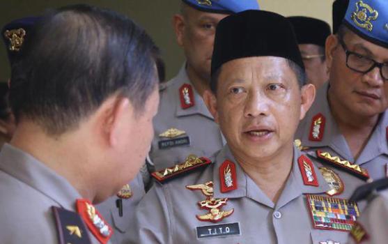 Kapolri, Jenderal Tito Karnavian.