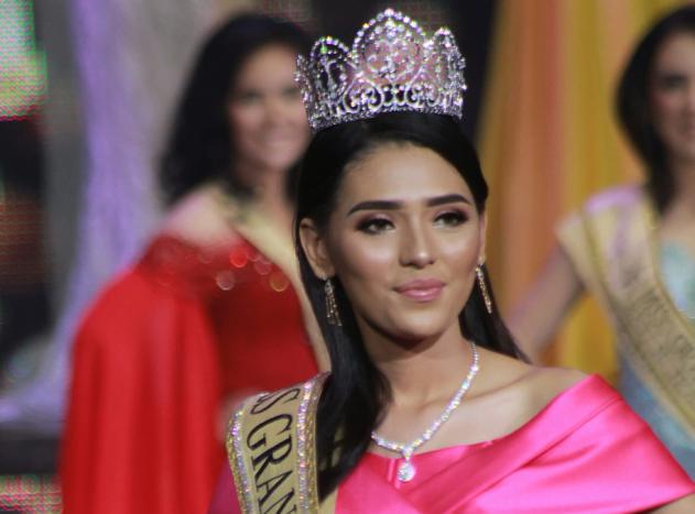 Sarlin Jones, dinobatkan sebagai Miss Grand 2019.
