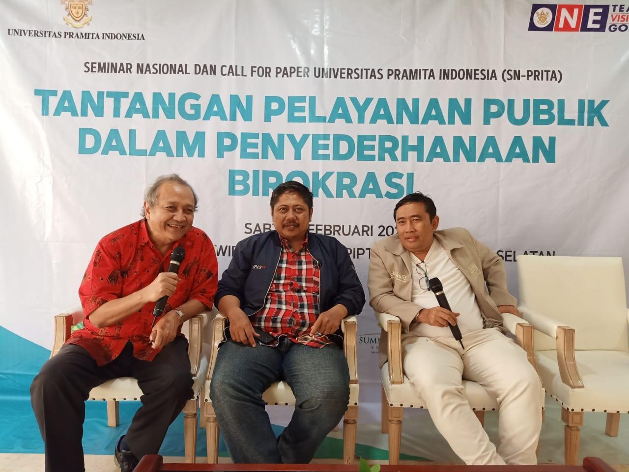 Humas MIPI Asri Hadi bersama Pimpinan Media Digital Indonesia saat diskusi