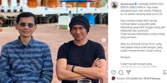 """Antibodi Covid-19 Profesor"" Hadi Pranoto Ternyata Pernah Digaungkan Seorang Laksma TNI"