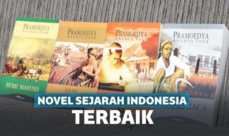 15 Novel Sejarah Indonesia Terbaik Yang Wajib Dibaca Beritaenam Com