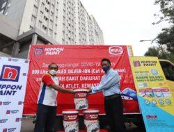 Donasi cat Nippon Paint untuk RSDC Wisma Atlet Kemayoran (foto dok nippon paint indonesia)