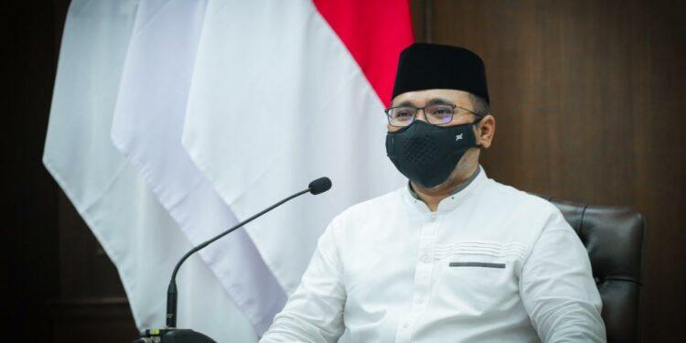 Menteri Agama Yaqut Cholil Qoumas berharap kemerdekaan adalah hak yang harus dijamin dan dijaga. (foto dok ist)